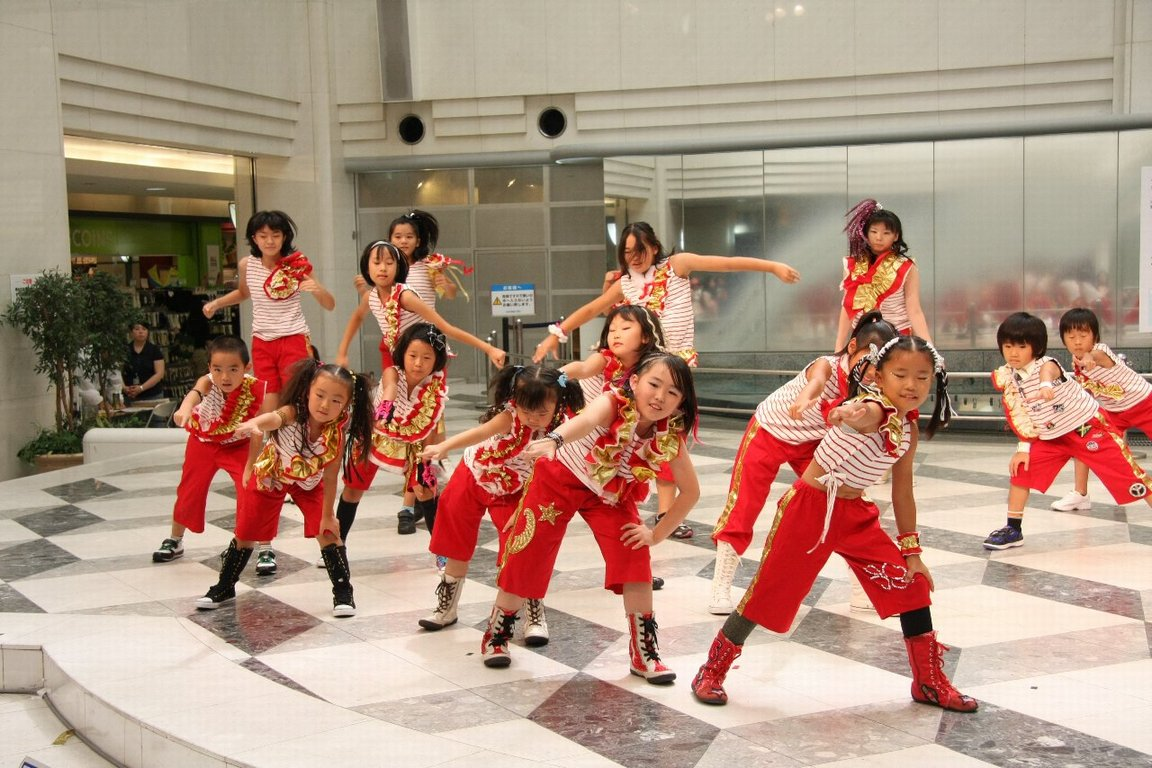 Kids HIPHOP!Jr.クラス(Studio Lee Factory主宰  朝吹梨加)